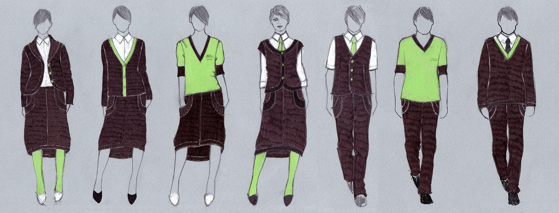 Kursime drabužius su Italijos meistre